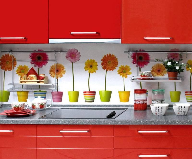 Стеновые панели для кухни: кухонная отделка на стены под плитку, настенные акриловые модели