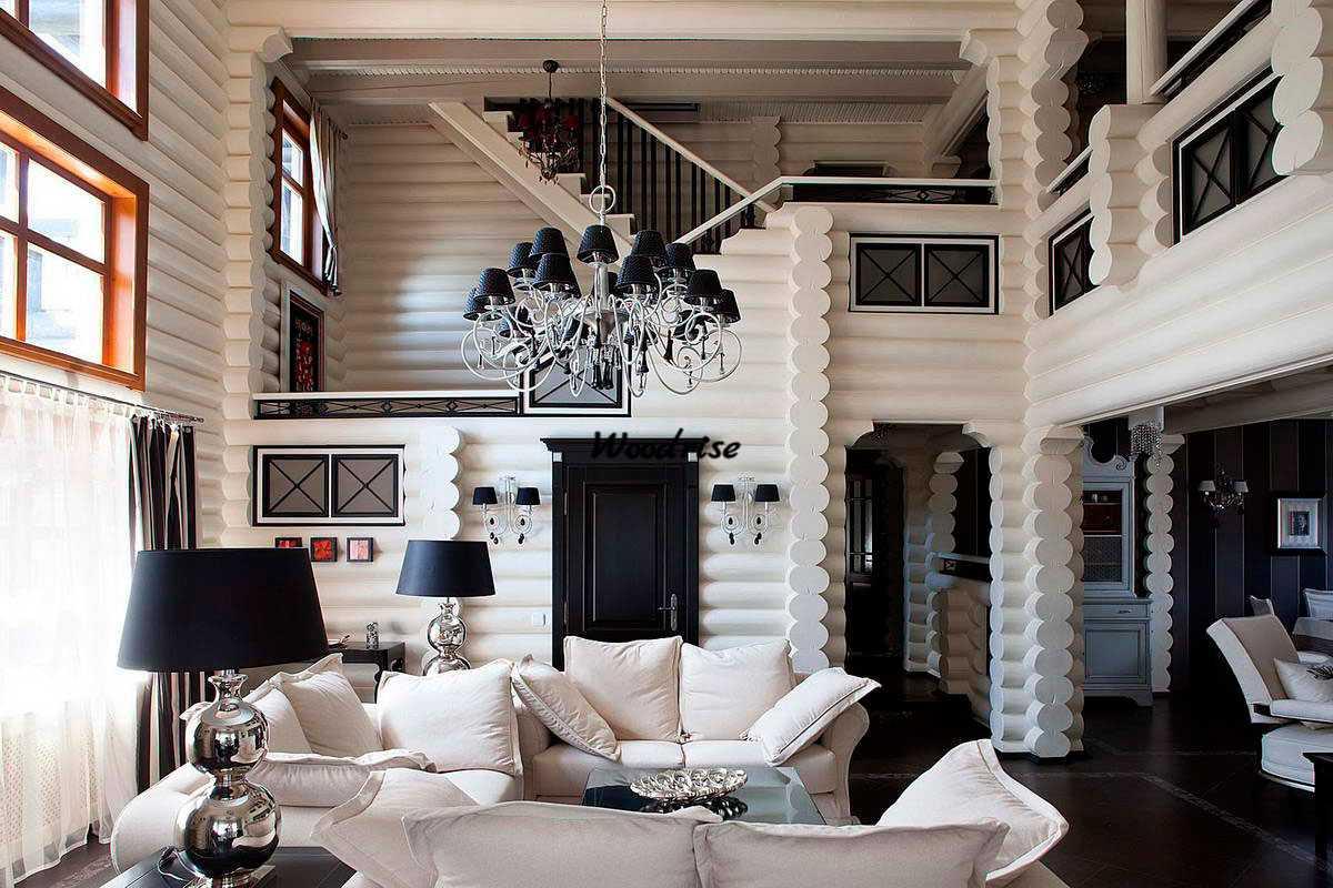 Деревянный стиль в интерьере - 75 фото нестандартнеого дизайна