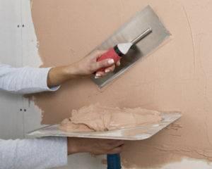 Как подготовить стену под декоративную штукатурку различных видов