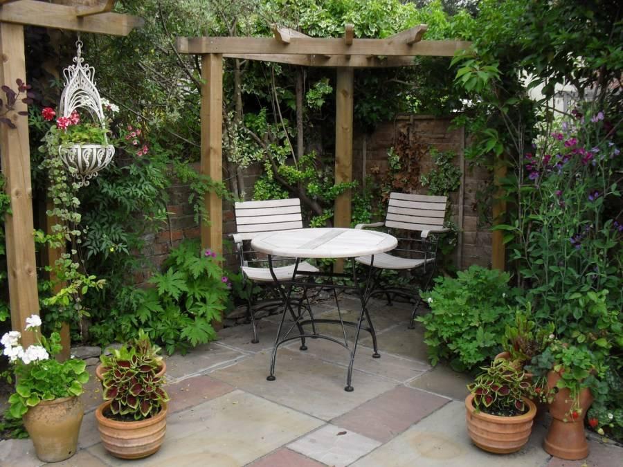 Ландшафтный дизайн на маленьком участке – 1 фото и идеи для оформления придомовой территории