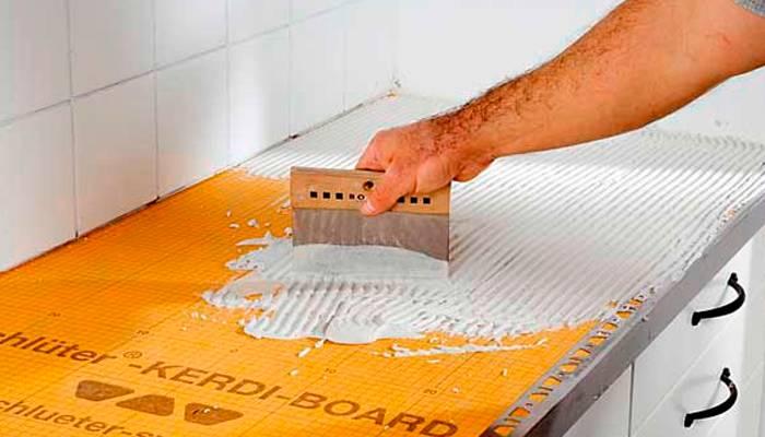 Стол с плиткой: как сделать декор кухонного стола кафельной плиткой