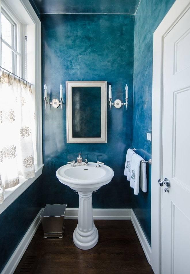 Отделка ванной комнаты декоративной штукатуркой своими руками