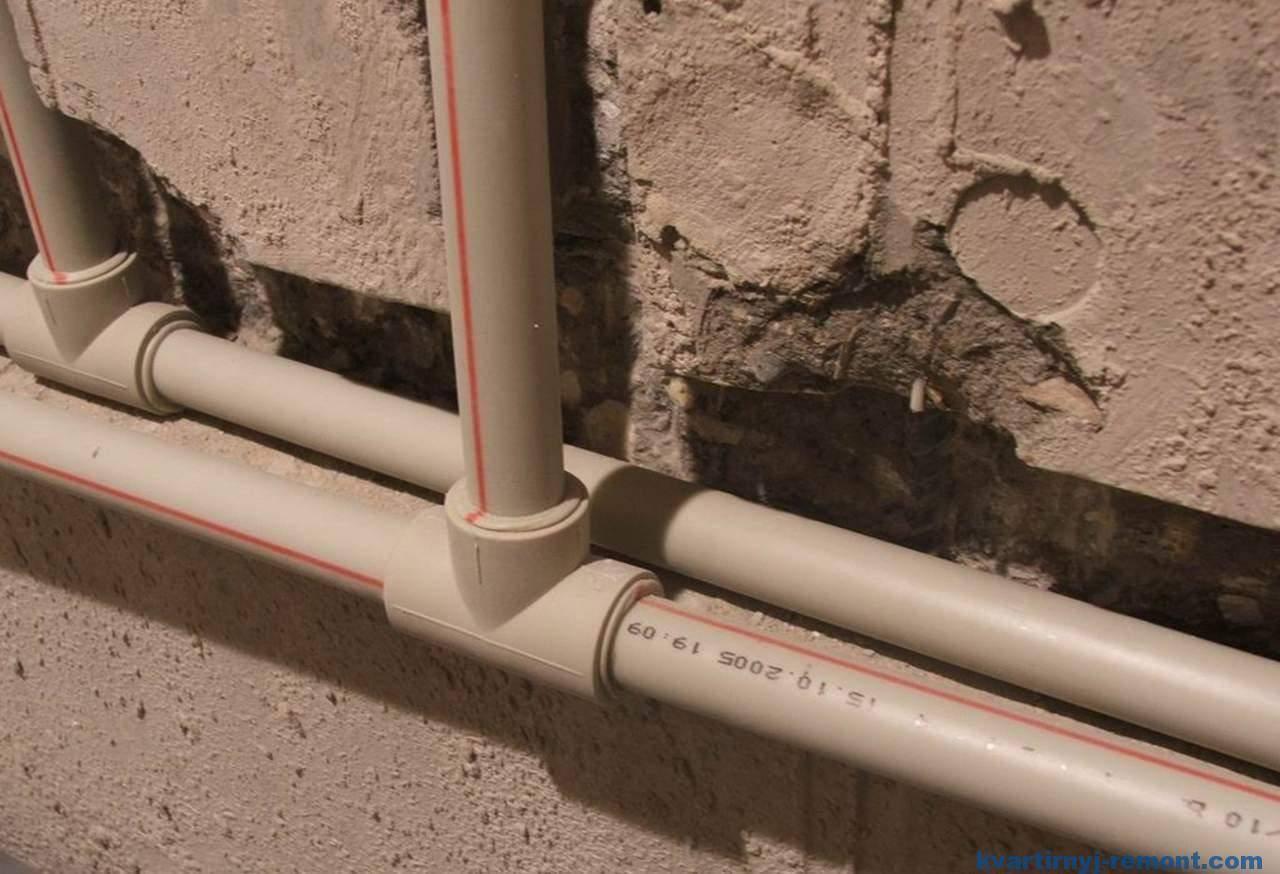 Все о технологии монтажа полипропиленовых труб для водоснабжения