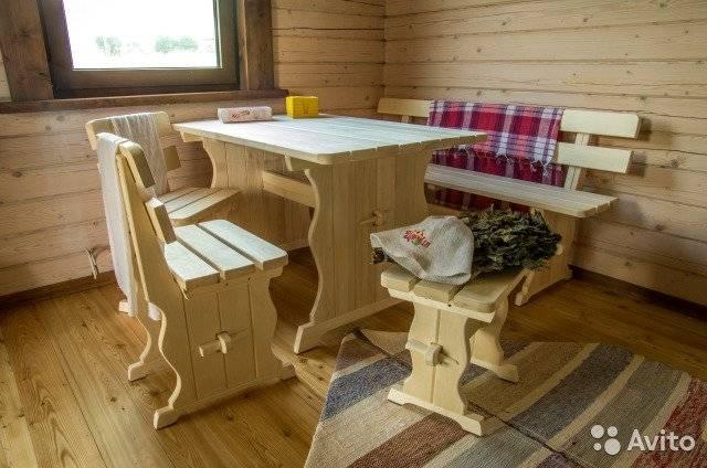 Изготовление мебели для сада своими руками: экономно и практично