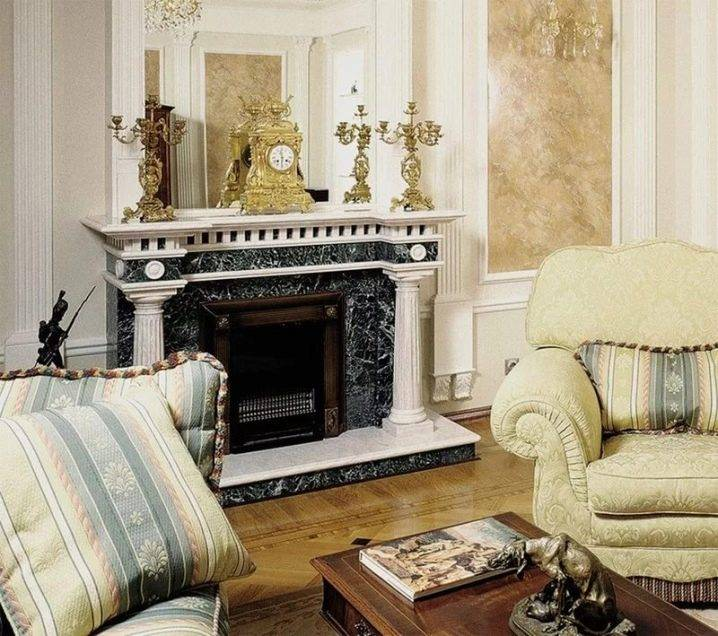 Камин в интерьере квартиры: особенности и виды