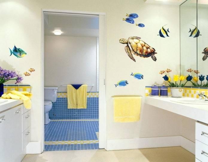 27 захватывающих идей декора ванной комнаты, которые помогут сделать её уютной и стильной
