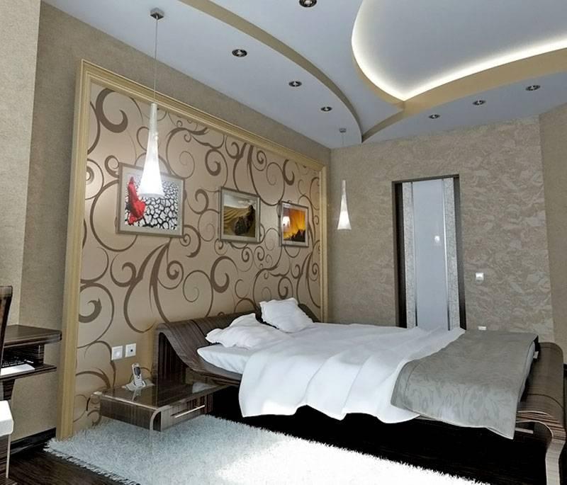Фото потолков из гипсокартона для зала: одноуровневые, двухуровневые, дизайн, подсветка