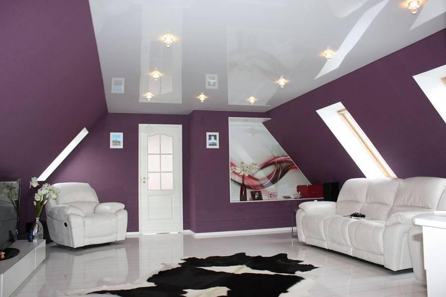 Лампочки для натяжных потолков — виды освещения и варианты дизайна