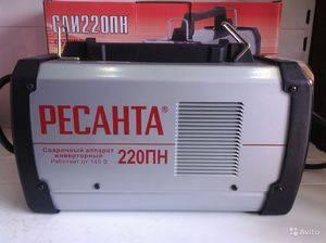 Сварочный инвертор ресанта саи-220: характеристики, схемы, отзывы покупателей