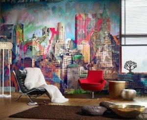 Цвет стен в интерьере: 105 фото нюансов оформления стильного дизайна