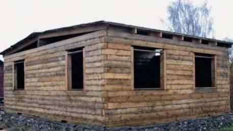 Дом из бруса своими руками: обзор важных основ и технологии