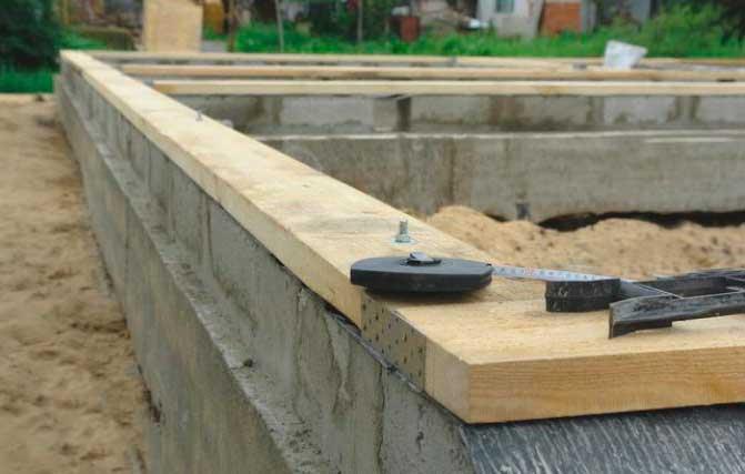 Как заложить фундамент под каркасный дом своими руками - какой лучше? Обзор