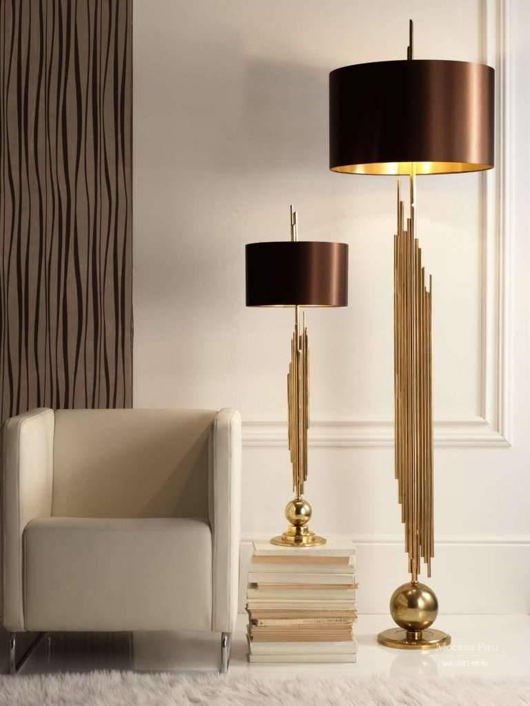 Торшер своими руками - 85 фото и видео советы как построить стильную и оригинальную лампу