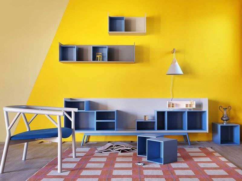 Примеры покраски стен в квартире
