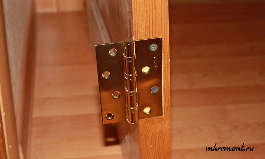 Точная врезка дверных петель