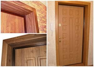 Реставрация железной входной двери в квартире