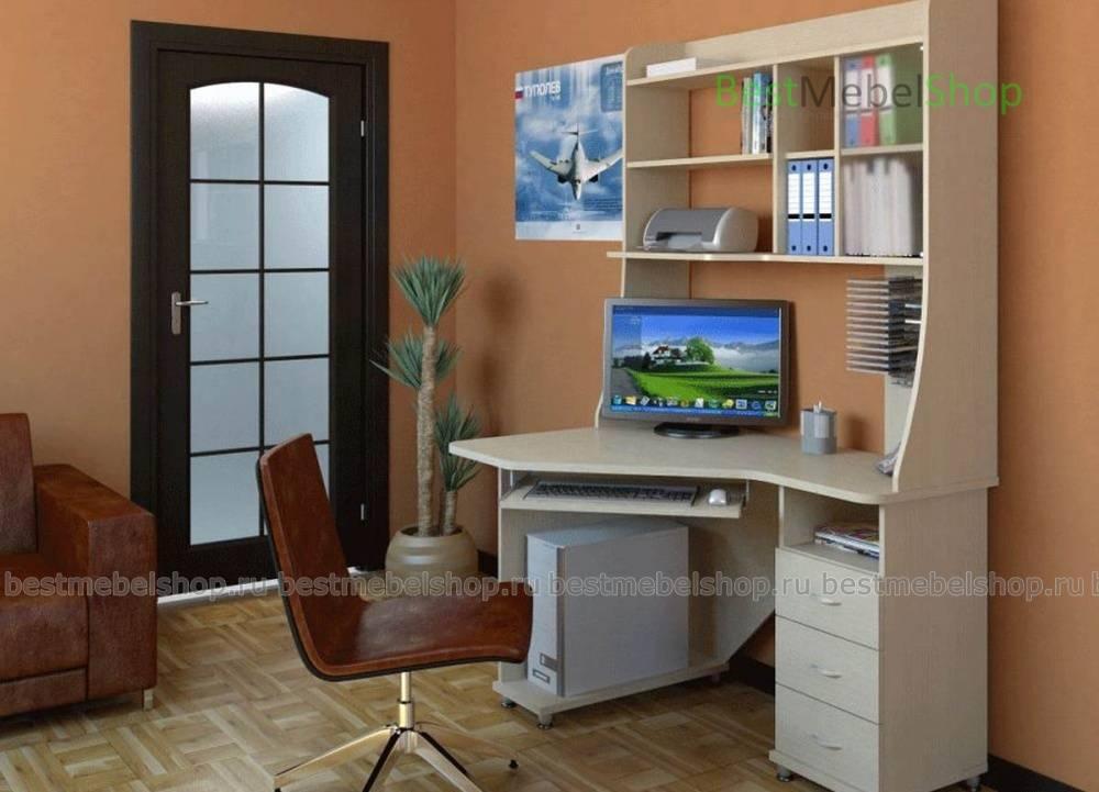 Компьютерные столы со шкафом (41 фото): угловые модели-трансформеры для компьютера с полками