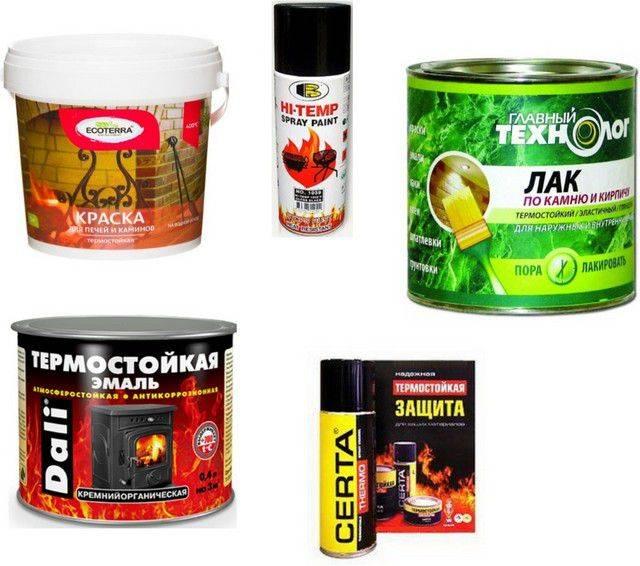 Термостойкая краска и способы ее применения в быту