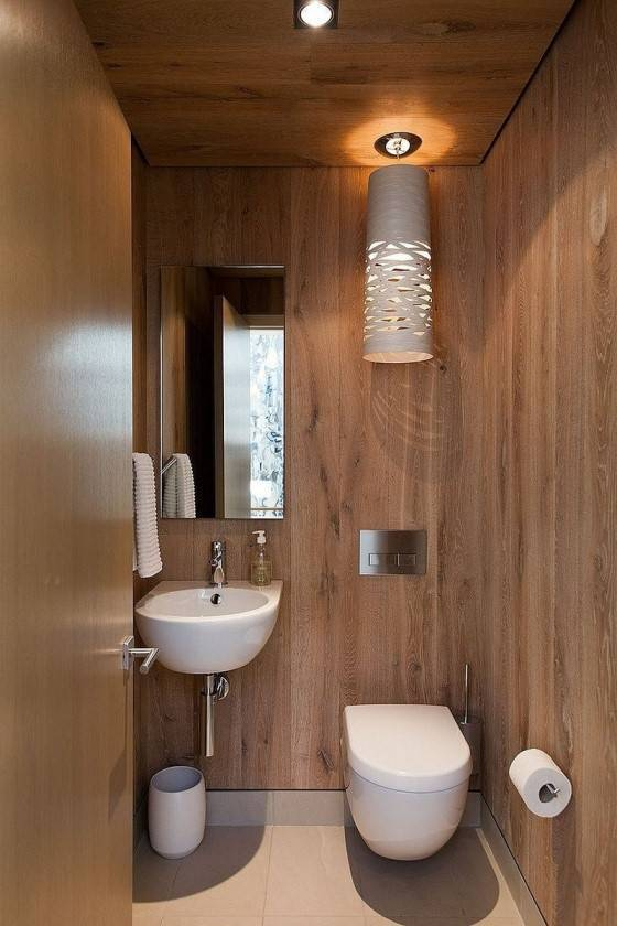 Тонкости отделки туалета пластиковыми панелями
