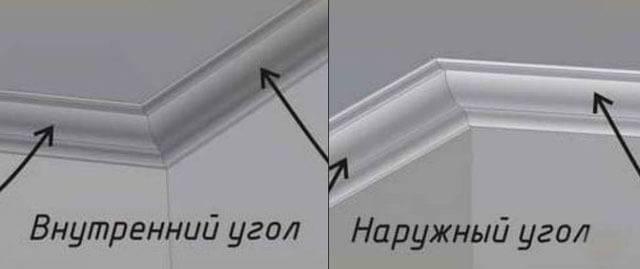 Как запилить потолочный плинтус - варианты срезания углов, фотографии и видео