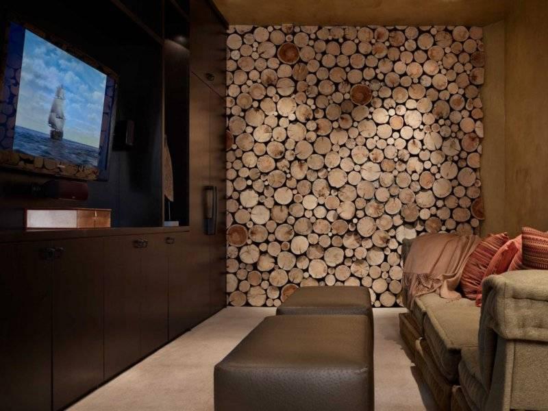 Дерево в интерьере квартиры (57 фото): оформление деревяной стены в квартире, использование натурального материала в современном стиле