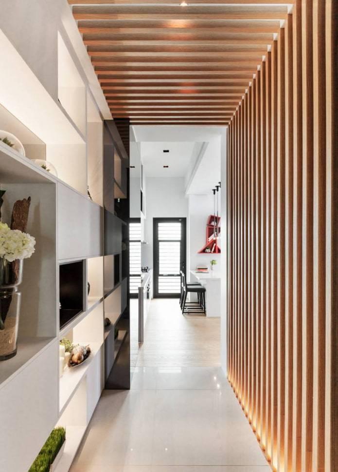 Деревянные потолки в интерьере - фото различных вариантов дизайна