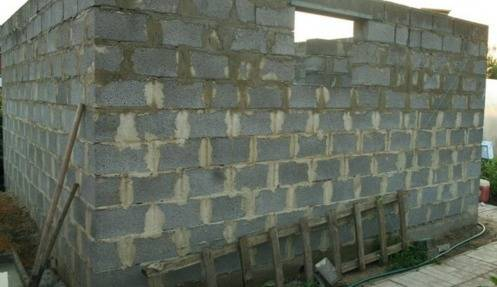 Как построить баню из керамзитобетонных блоков лучше, чем из сруба