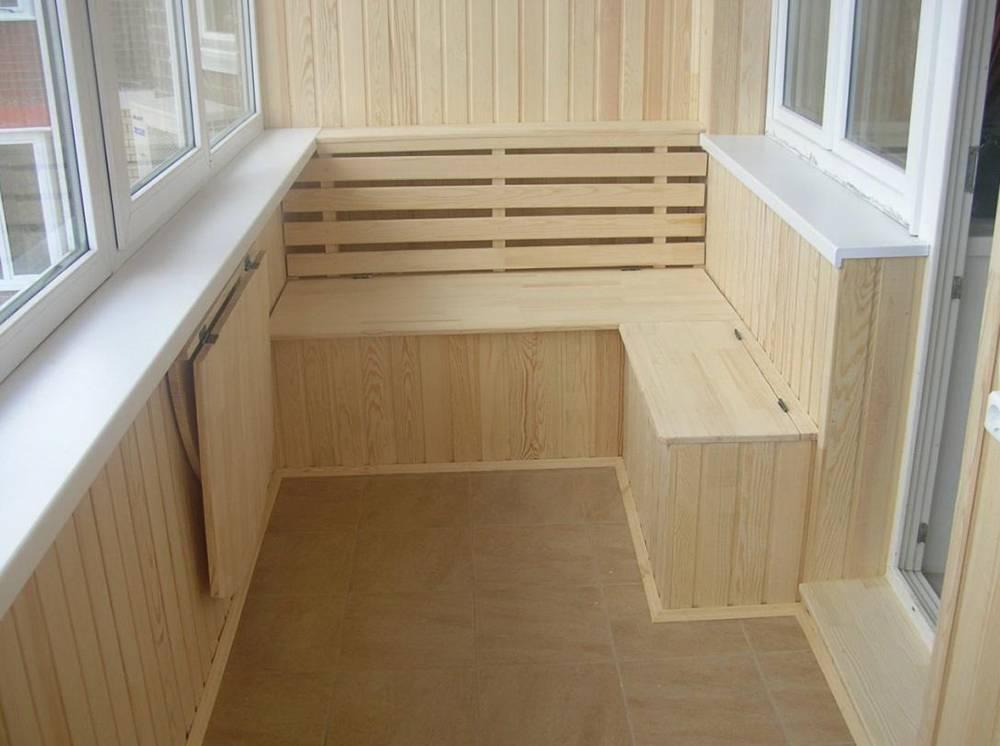 Полки на балконе (42 фото): как сделать своими руками из вагонки