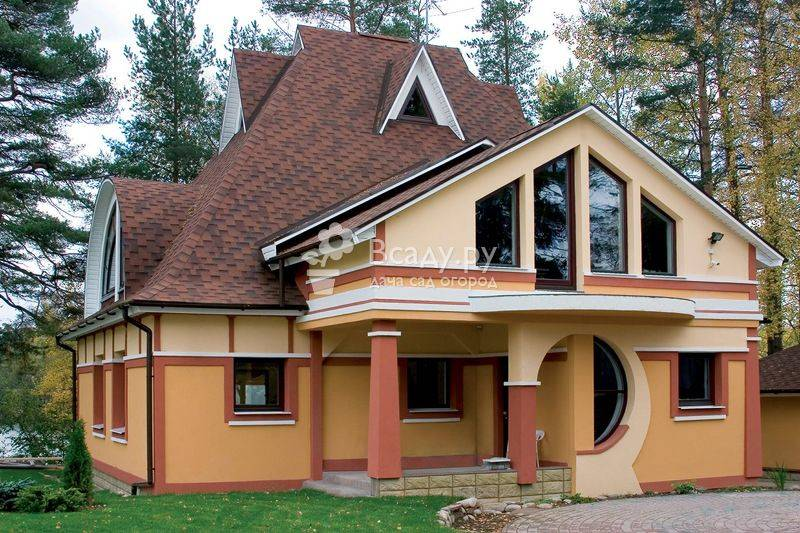 Мансардная крыша (136 фото): устройство стропильной системы кровли частных домов с мансардой, разновидности крыш