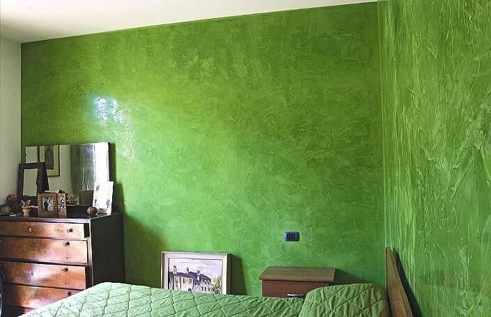 Декоративная штукатурка для внутренней отделки стен: 6 видов с 50 фото