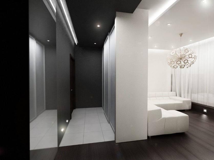 Чёрный потолок в интерьере: особенности дизайна