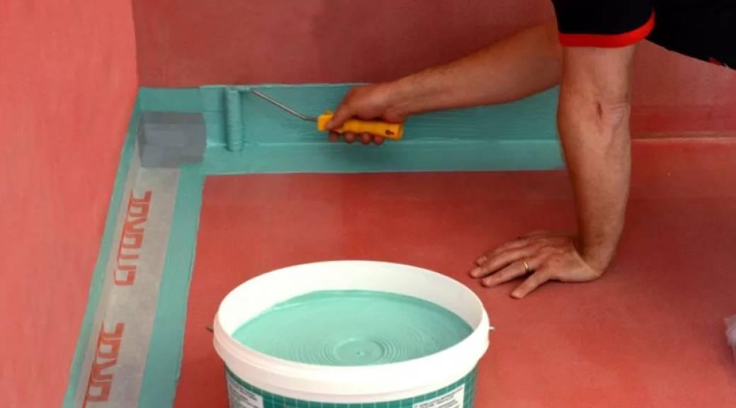 Гидроизоляция под наливной пол - обзор способов и пошаговые инструкции