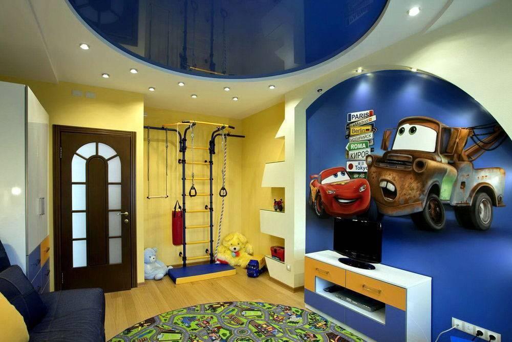 Цветные матовые натяжные потолки - фото различных вариантов в интерьере