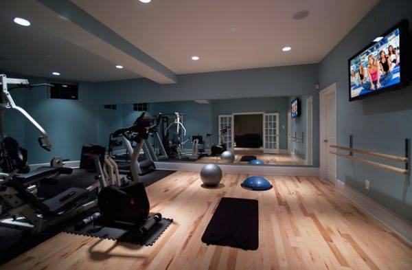 Как оформить стены в фитнес зале. дизайн домашнего спортзала (48 фото): выбор помещения, отделка, освещение и оборудование