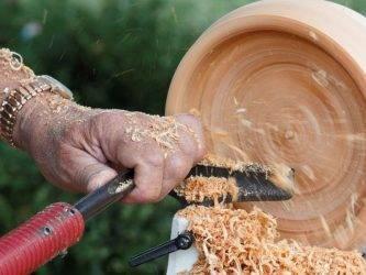 Как точить дерево на станке: токарное дело по дереву для начинающих