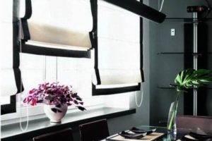 Выбираем современные шторы на кухню: обзор новинок 2018 года