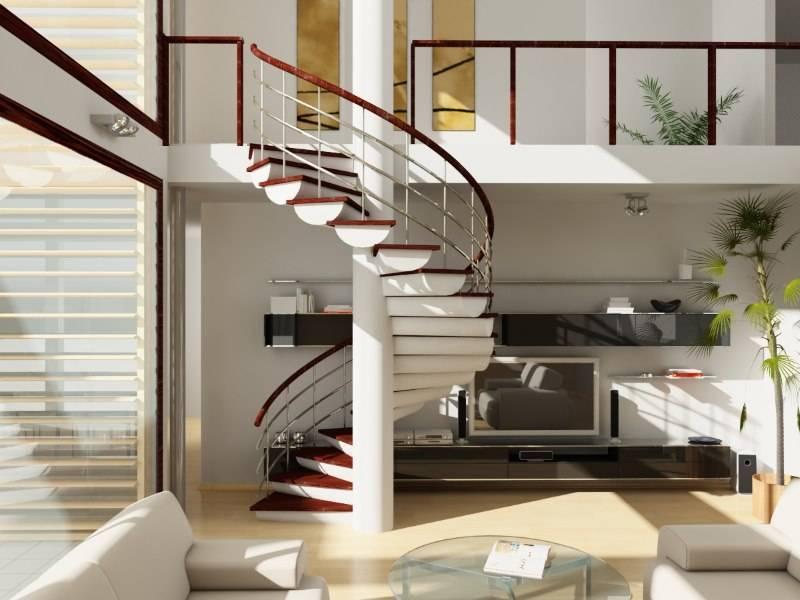 Варианты дизайна лестниц без перил в доме