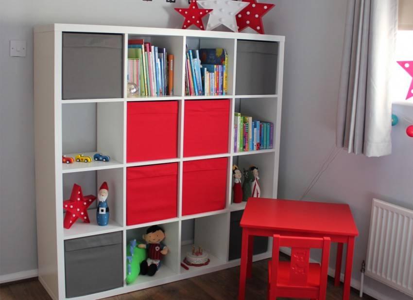 26 оригинальных шкафов для хранения игрушек