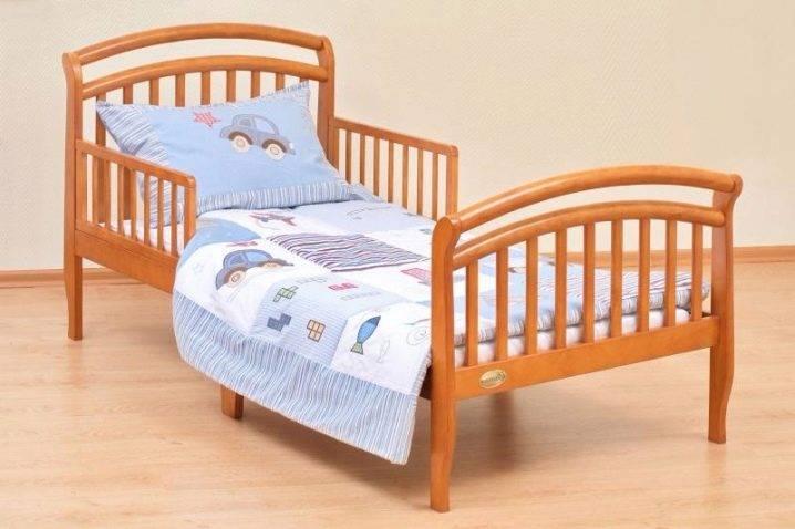 Детские кровати от трех лет, материалы изготовления, разновидности