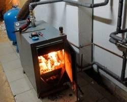 Твердотопливный котел длительного горения на дровах
