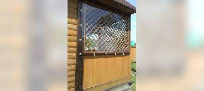 Жидкие окна из пвх для беседок и террас: остекление своими руками