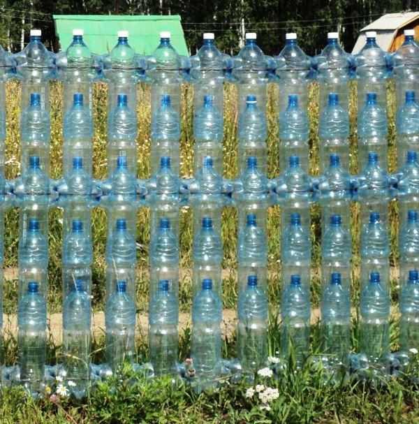 Заборчик своими руками из пластиковых бутылок - каталог статей на сайте - домстрой