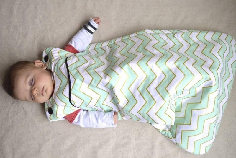 Спальный мешок для ребёнка — приобрести или сделать своими руками?