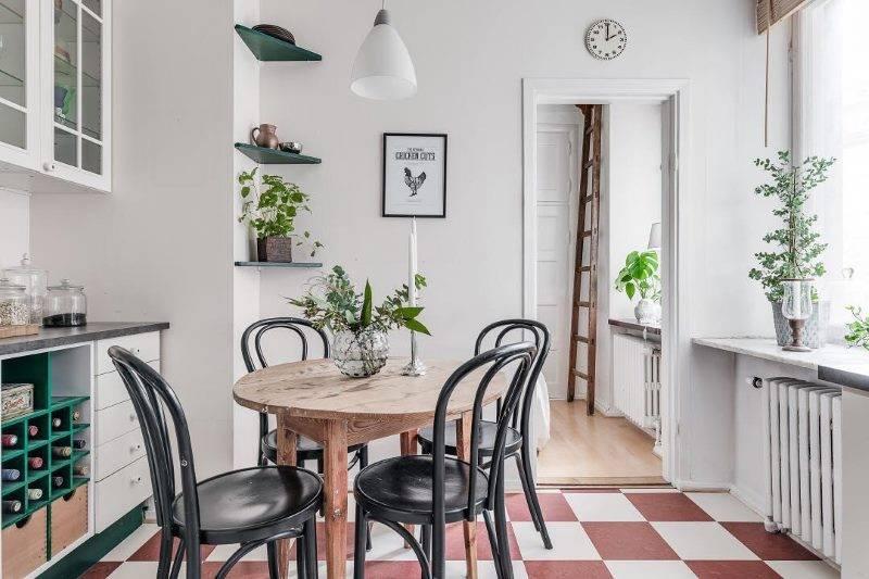 Пол на кухне — лучшие варианты дизайна и оптимальные сочетания покрытий. фото самых красивых идей