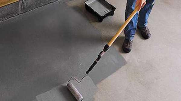 Чем покрывают бетонные полы в гараже, чтобы они не пылили при эксплуатации