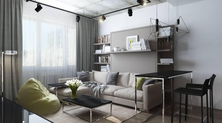 Однокомнатная квартира 40 кв.м: 230+ (фото) идей & вариантов