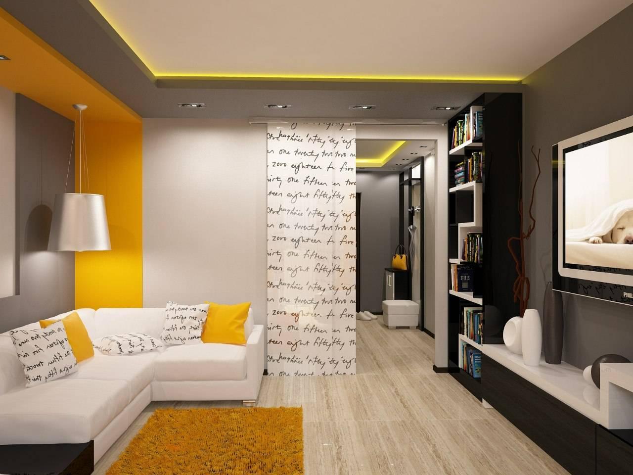 Дизайн двухкомнатной квартиры в хрущевке: 75 современных идей