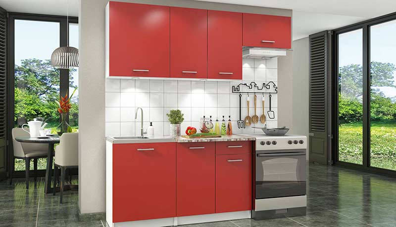 Из какого материала выбрать кухонный гарнитур: недорого и практично