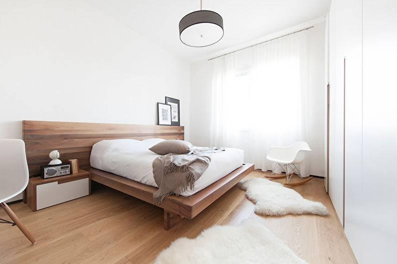 Спальня в стиле минимализм — 50 фото идей лаконичного и модного оформления интерьера спальни