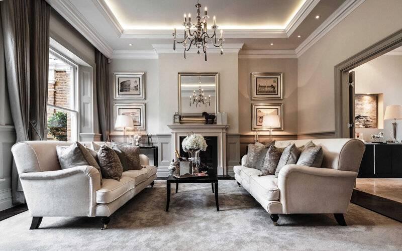 Классический стиль в интерьере квартиры: то, что никогда не выйдет из моды- обзор +видео